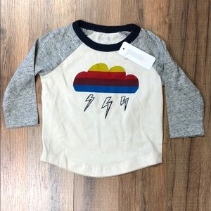 Gymboree Baby Boy Rainbow Cloud Long Sleeve NWT